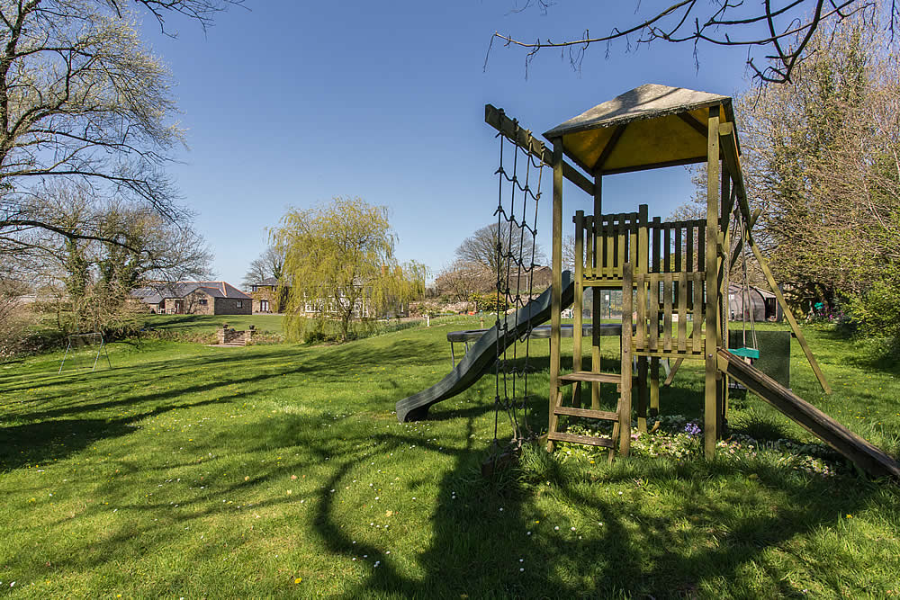 Climbing Frame and Slide